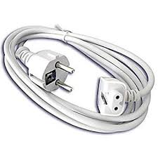<b>EU</b> Power Extension Cable for Apple <b>MacBook</b> 45W / 60W: Amazon ...