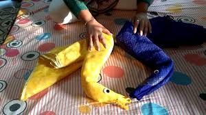 Saree Tray Decoration How to make Swan or Hans using saree Wedding Tray Decoration YouTube 72