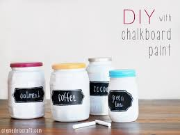 and if you haven t experimented with chalkboard paint yet you re in for a treat materials glass jar with lid chalkboard paint you can