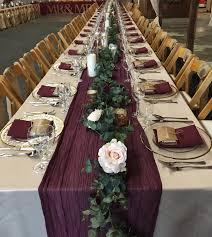 Designer Wedding Linens Guest Table Package