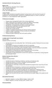 Best Ideas of Director Of Nursing Resume Sample With Additional Cover Letter