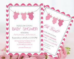 baby shower invitations for girls templates pdf baby shower invitations parlo buenacocina co