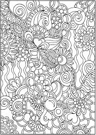 Small Picture 2437 best coloriages zentangle doodles images on Pinterest