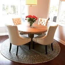 wonderful 6 foot round dining table excellent decoration round dining room rugs awesome design 1000