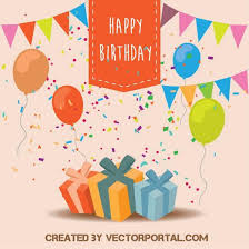 Free Birthday Backgrounds Happy Birthday Background Free Vector Image In Ai And Eps