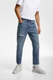 jeans zara pantalones vaqueros rotos