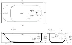 soaking length bathtub with of tub size in feet india advantageint standard dimensions of a bathtub