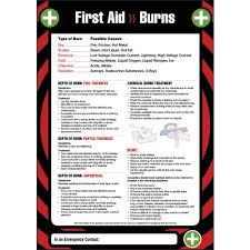 Laboratory First Aid Chart First Aid Posters Wallcharts Safety Signs 4 Less