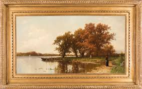 alfred thompson bricher early autumn on long island