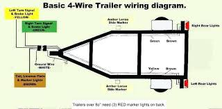 4 wire trailer lights wiring diagram manual e book 3 wire trailer wiring diagram wiring diagram centreled trailer wiring diagram wiring diagram centre3 wire led