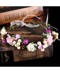 Svatební Květinová čelenka Do Vlasů Pro Neformální Svatbu
