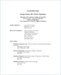 Resume Examples Word Format Resume Template Directory