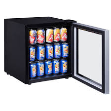 beverage cooler refrigera glass door wine fridge mini beer soda ture counter cooling system bottle slim