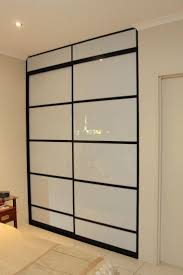 Decoration: Modern Glass Closet Doors Sliding Decor With Marble ...