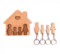 <b>Ключница Mimi Семья с</b> двумя дочками 1501-43 купить в ...