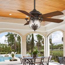 outdoor ceiling fans with lights. Indoor/ Outdoor Cloche Glass Ceiling Fan Oil_rubbed_bronze Fans With Lights