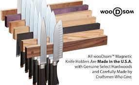 Quality Handcrafted Magnetic Knife Holders Made in the USA