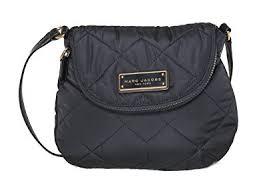 Amazon.com: Marc by Marc Jacobs Mini Natasha Quilted Nylon ... & Marc by Marc Jacobs Mini Natasha Quilted Nylon Crossbody Handbag Adamdwight.com