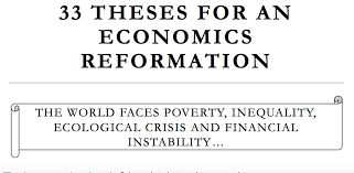 theses for an economics reformation new thinking for the  33 theses for an economics reformation new thinking for the british economy