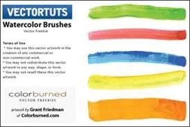 free watercolor brushes illustrator 105 beautiful illustrator brush sets and tutorials for creative
