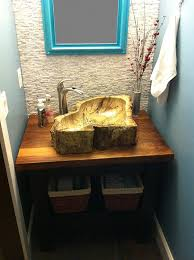 bathroom vessel sinks. eden bath s028pw-p natural stone sink - petrified wood vessel sinks amazon bathroom t