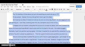 mla essay example format narrative work cited paper examples   mla format for personal narrative mla format narrative essay essay full