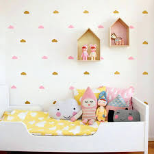 little cloud wall stickers decal home decoration in the nursery baby room decor india free flower hot wall stickers home decor