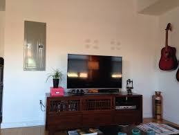 need to cover an electrical panel in my living room