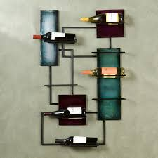 Boston Loft Furnishings 8-Bottle Black Wall-Mount Wine Rack