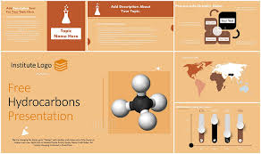 Free Hydrocarbons Powerpoint Template Myfreeslides