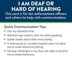 New Card Helps Deaf Drivers Communicate With Minn Police