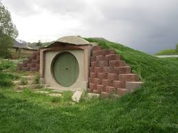 A Hobbit Hole In My Backyard In A Hole In The Ground There Lived