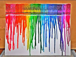 DIY: Crayon Melting Art