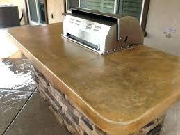 concrete countertop finishes