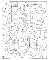 Challenging Coloring Pages Challenging Coloring Pages Challenging