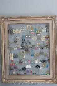 en wire frame for earrings by marty s musings