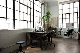 my houzz international meets industrial in a brooklyn loft industrial home office brooklyn industrial office