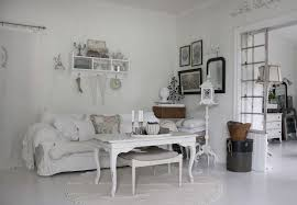 Shabby Living Room Cream Rug Chic Shabby Living Room White Floor Completed Floral