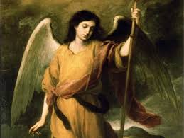 i m a low church protestant so i don t typically pray to angels especially not to st raphael whose only mention is in the apocrypha a part of the