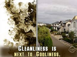 cleanliness slogans cleanliness is next to godliness