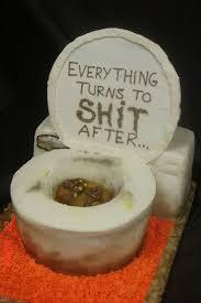 How To Build A Toilet Cake Cakecentralcom