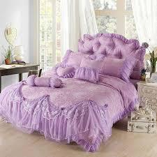 fresh luxury purple jacquard silk