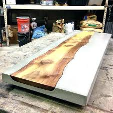 polished concrete table top making a concrete table full image for lightweight concrete table top polished polished concrete table