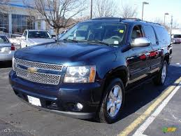 2007 Dark Blue Metallic Chevrolet Suburban 1500 LTZ 4x4 #25709713 ...