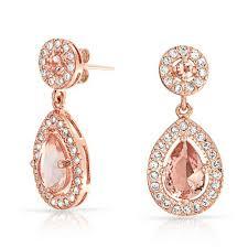 rose gold teardrop earrings uejdzlpxm