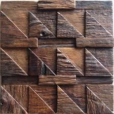Decorative Wood Wall Panels Mosaic Decoration Backsplash Ship Wood Mosaics Panel Tiles For