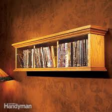how to build a wall cabinet for dvds diy