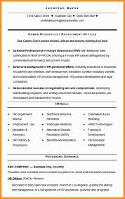 Human Resources Resume Examples Adorable 4848 Human Resource Manager Resume Sample Wear48