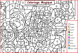 Coloriage Magique Pour Les Plus Petits Les Chiffres Activit S De