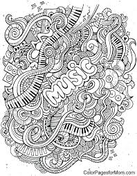 Idea Free Music Coloring Pages Printable Or Doodling Coloring Pages